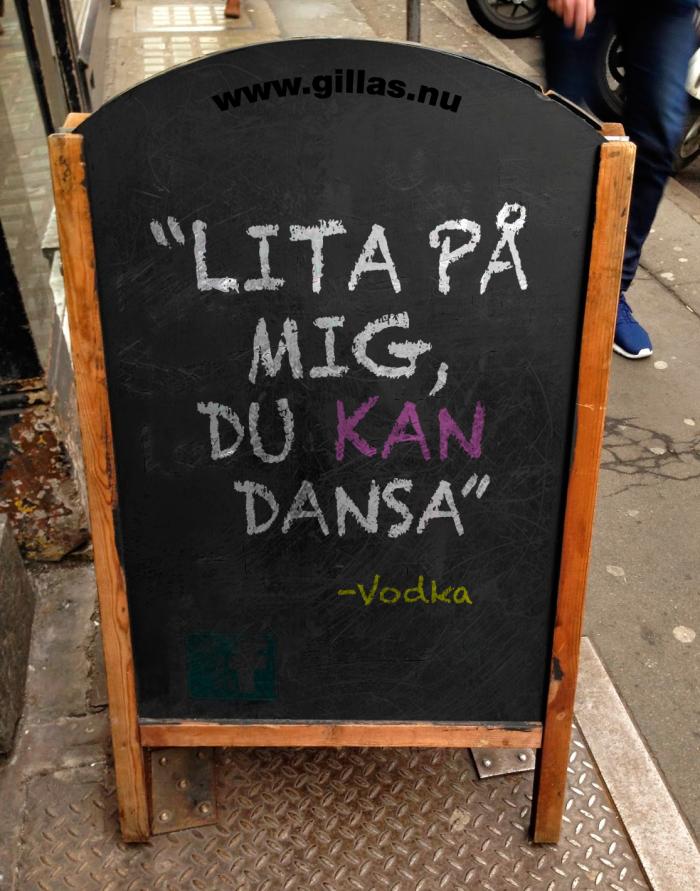 Lyssna aldrig på goda råd från Vodka