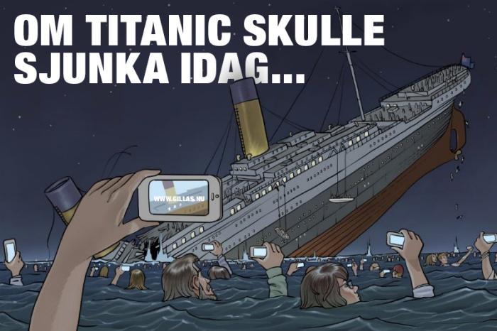 Så här skulle det antagligen se ut om Titanic sjönk idag