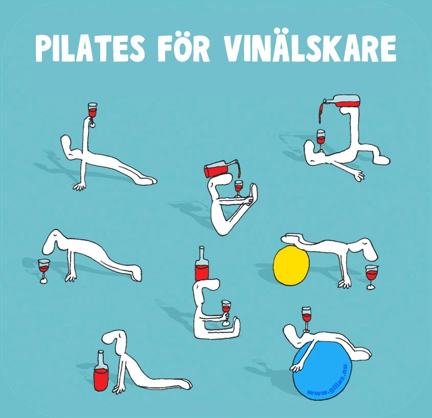 Pilates för vinälskare