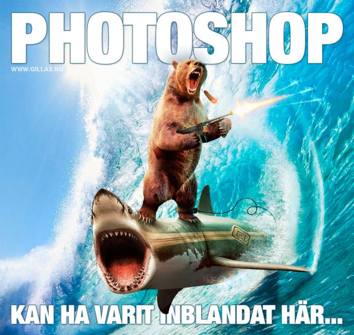 Någon mer som misstänker att Photoshop eventuellt kan ha varit inblandat här?
