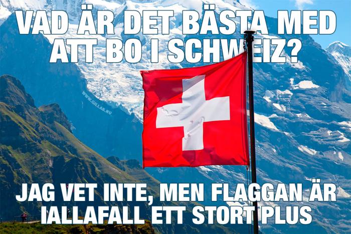 Det bästa med att bo i Schweiz