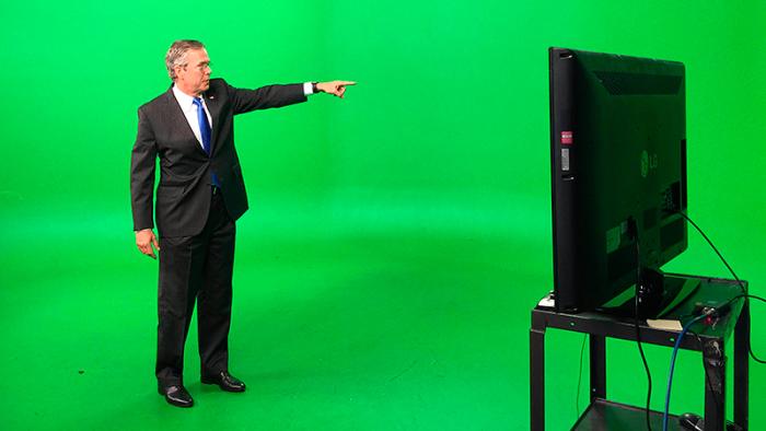 Se vad som hände när denna bild av Jeb Bush blev tillgänglig på nätet!