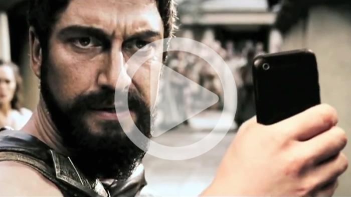 Har du någonsin undrat vad en selfie kan göra för din favoritfilm?