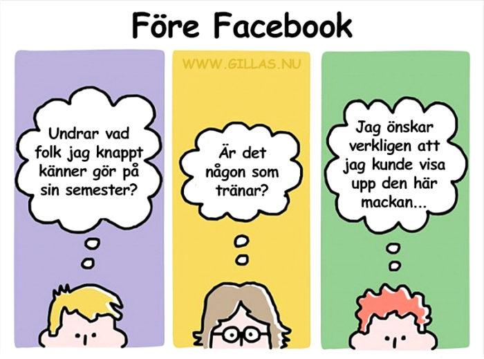 Livet var annorlunda innan Facebook