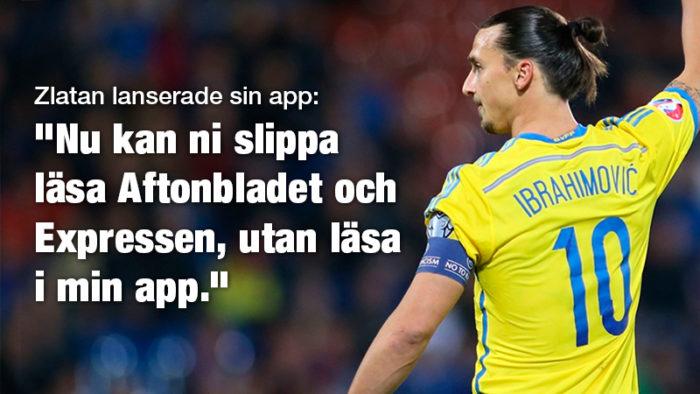 Tjugo klockrena citat från Zlatan som påminner oss om varför vi älskar honom