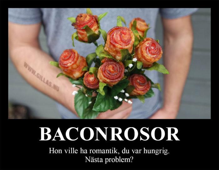 Bacon är lösningen på det mesta