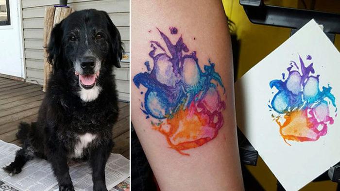24 härliga bilder som bevisar att hundtassavtryck är det coolaste tatueringsmotivet någonsin!