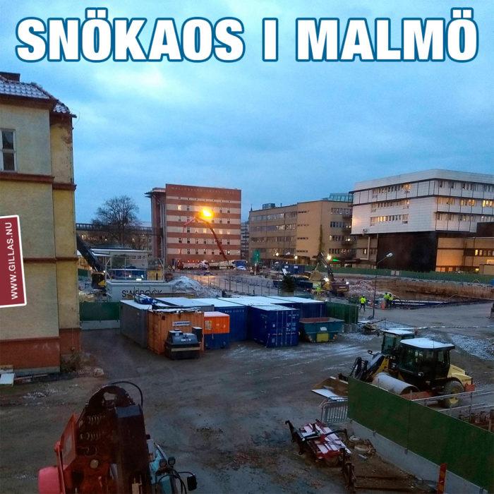 Dagen då Malmö stod still