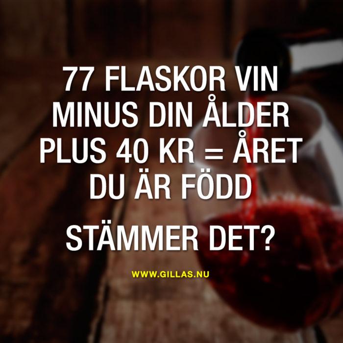Livet har en tydlig koppling till vin