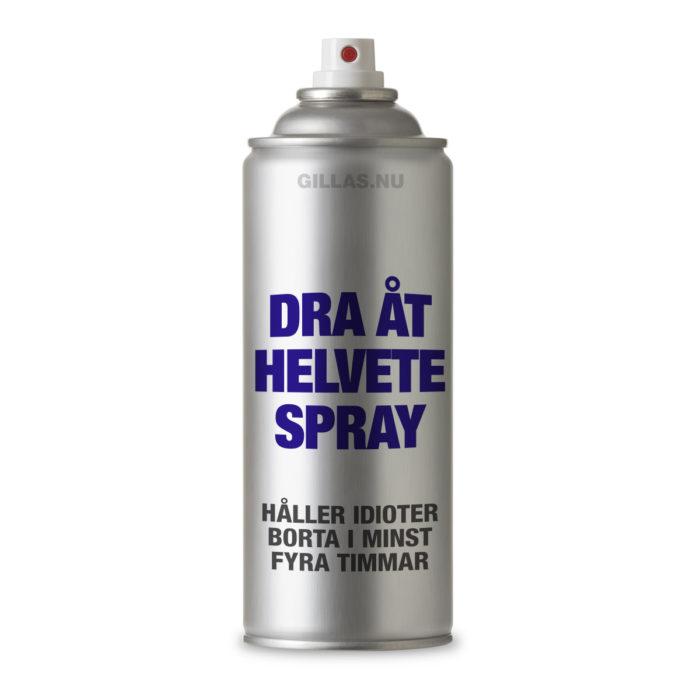 Många skulle behöva denna spray
