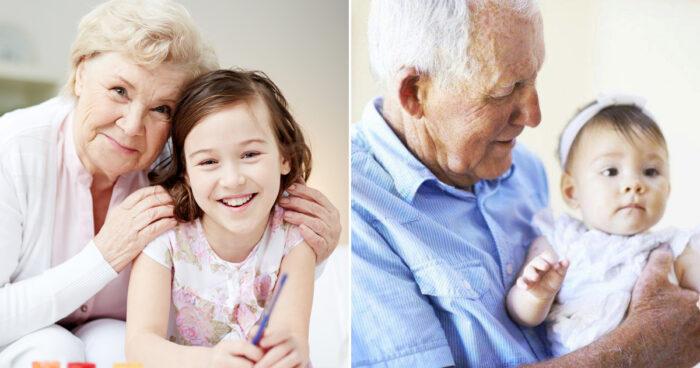 Studie bekräftar: Äldre som tar hand om sina barnbarn lever längre
