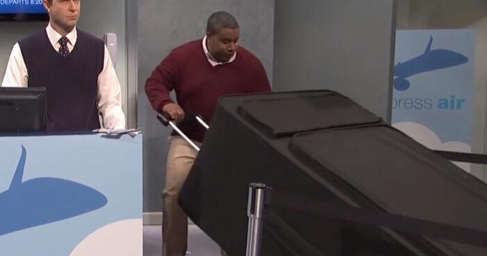 VIDEO: Vissa av oss har en tendens att överdriva lite när de packar för semester