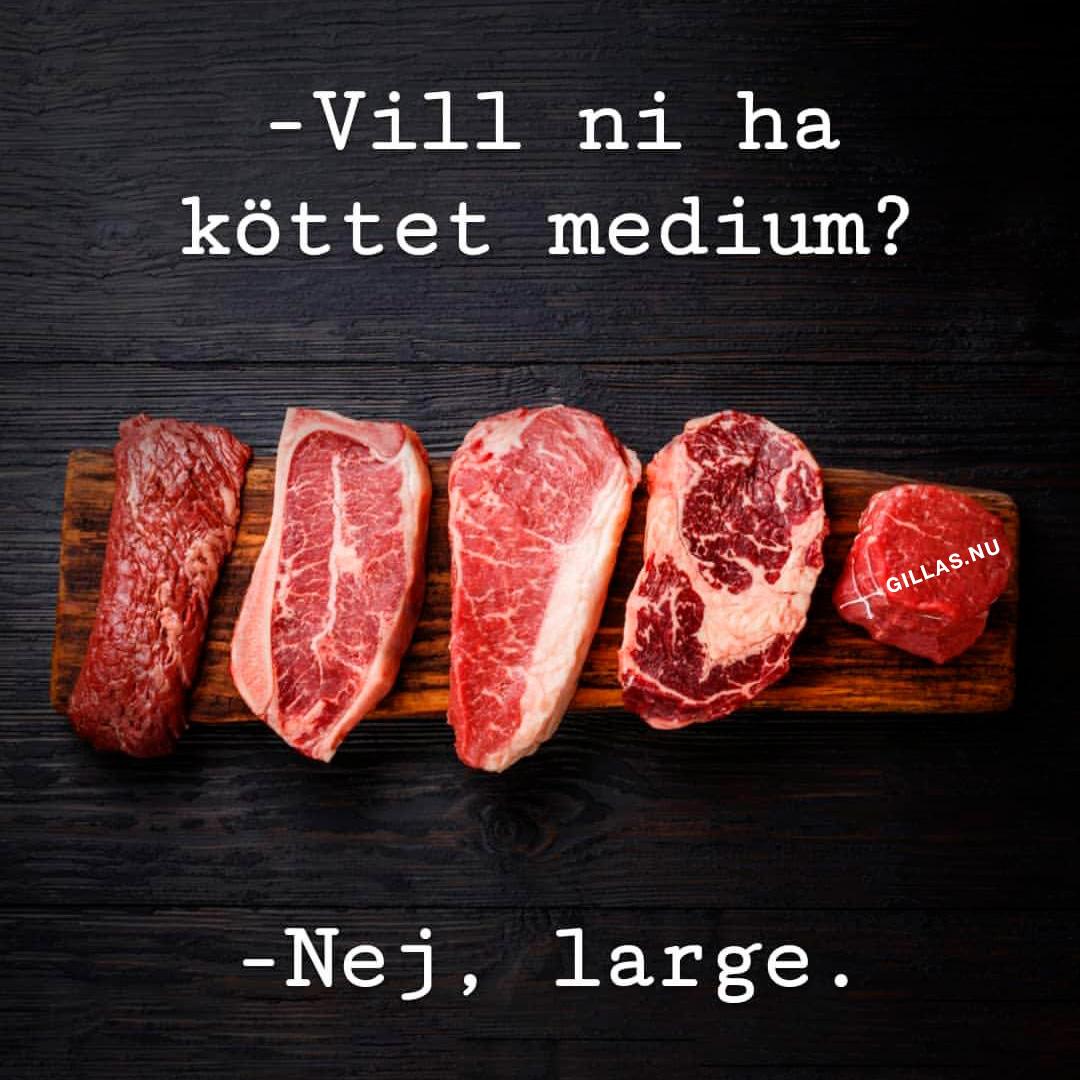 Ordvits om kött